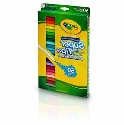 Crayola Washable Super Tips Markers 50 Count Package New in