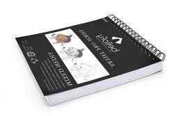 Watercolor Paper Pad Art Drawing Spiral Sketchbook Artist Co