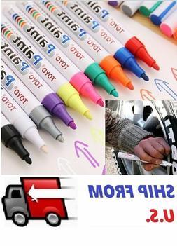 TOYO Waterproof Permanent Paint Marker Pen Car Tyre Tire Tre