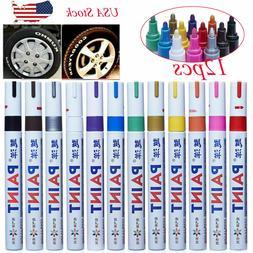 Waterproof Permanent Paint Marker Pen for Car Tyre Tire Trea