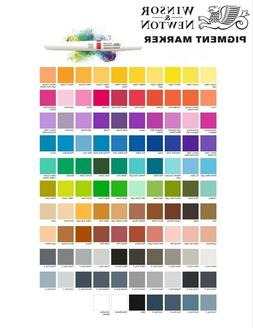Winsor & Newton PIGMENT MARKERS 1pc - CHOOSE ONE!!