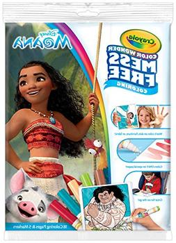 Crayola Color Wonder Disney's Moana Coloring Book, 18 pages