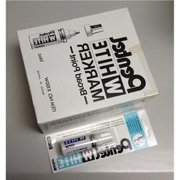 Pentel X100W Board Point Paint White Markers  - White