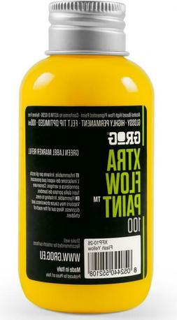 GROG - XTRA FLOW PAINT - 100ML PAINT REFILL FOR MOPS AND MAR