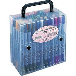 Kuretake Zig Twin Tip Marker Clean Color II, 60 Color Set
